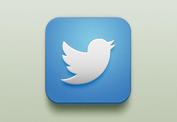 16 Twitter Icon PSD Images