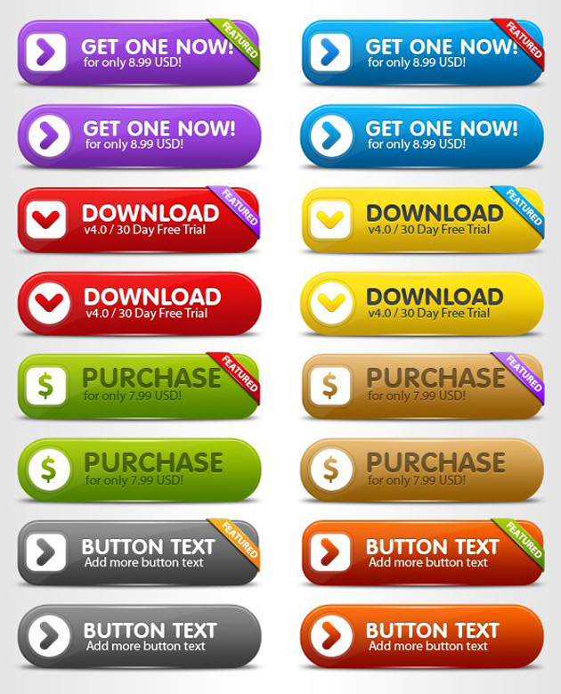 Free Web Page Buttons