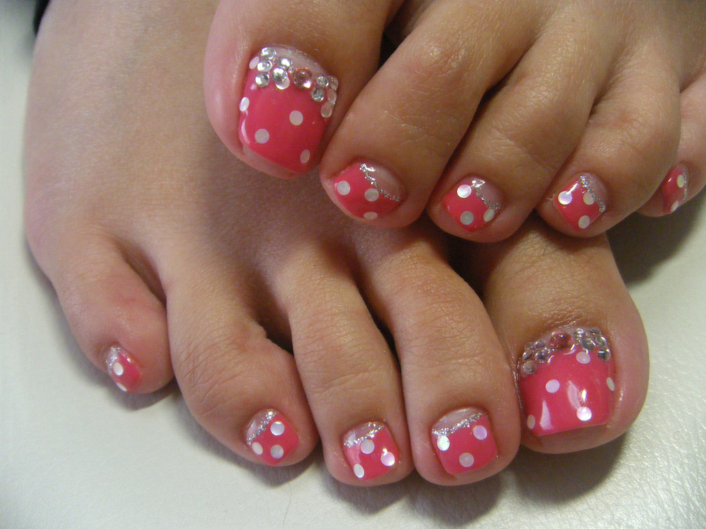 16 Toe Nail Designs Images