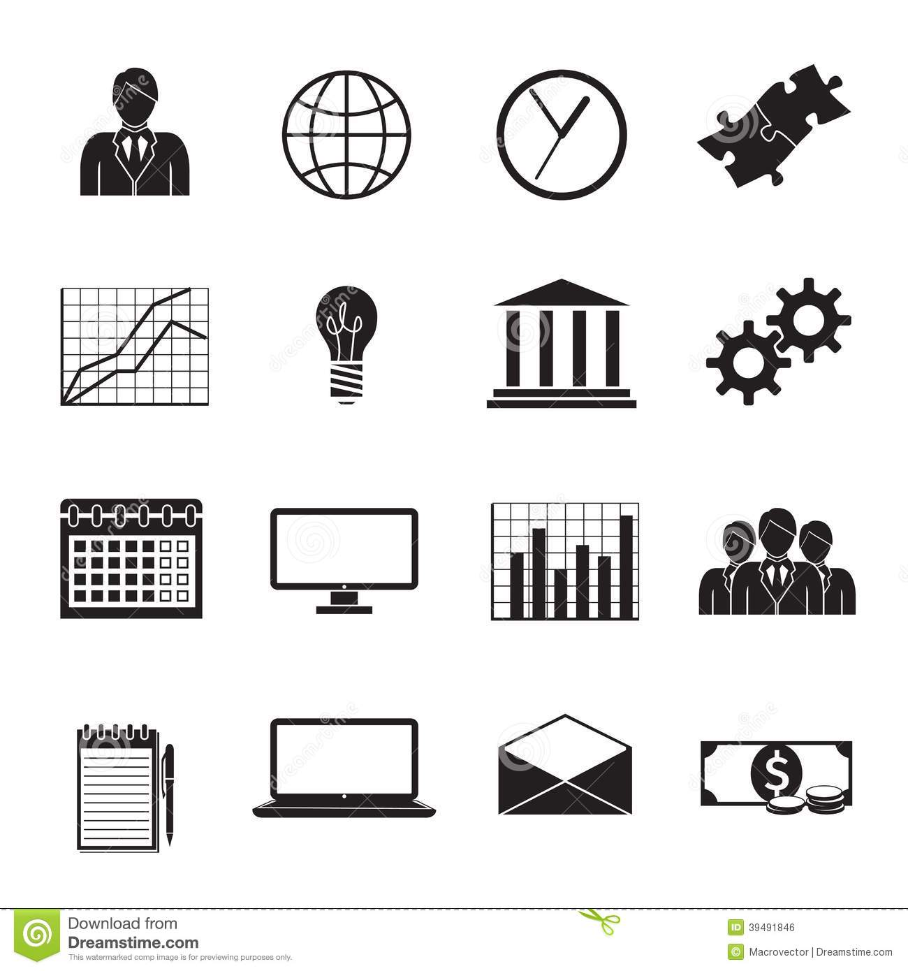 Generic Business People Icons
