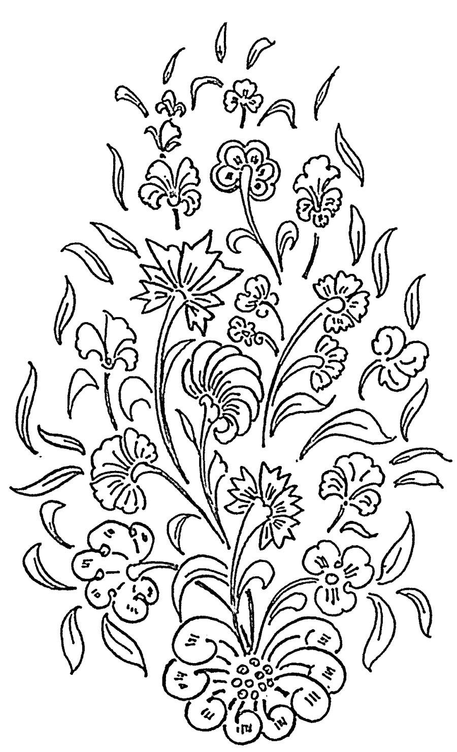 Glass Flower Designs Patterns