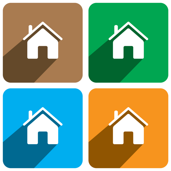 15 Home Icon Flat Images Flat Home Icon Flat Home Icon And Small House Icon