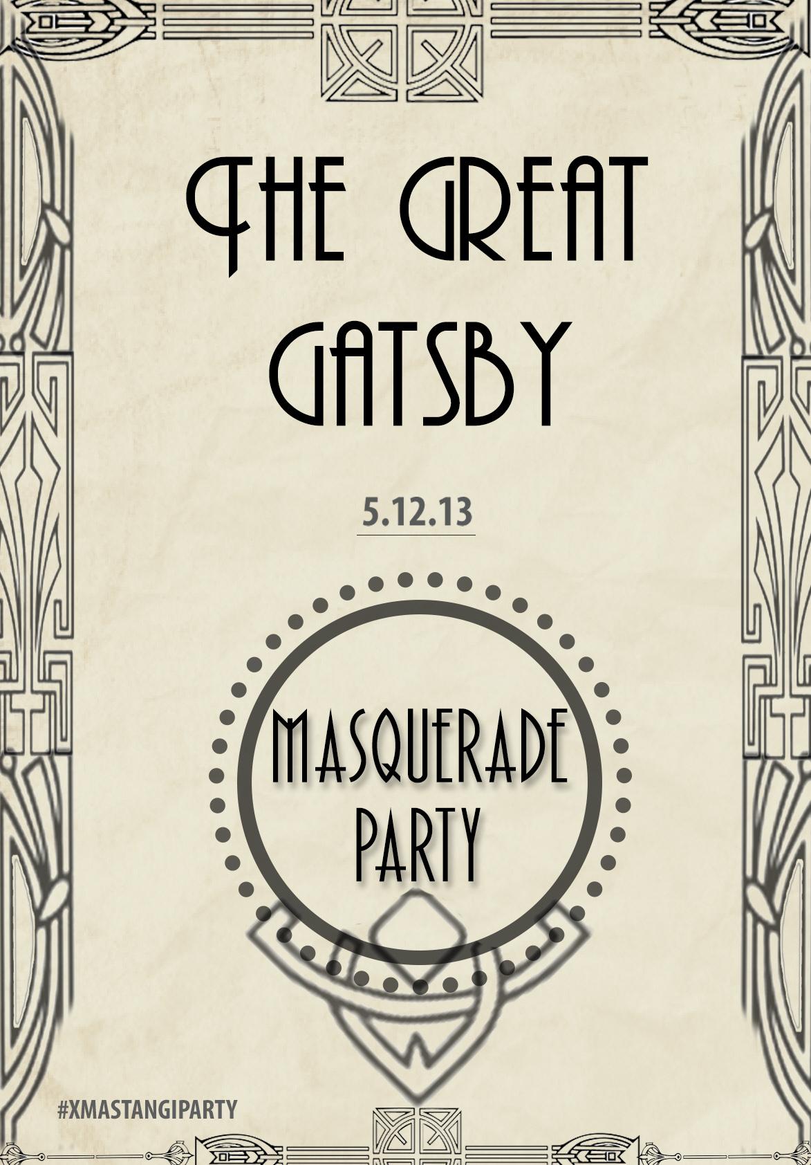 11 Roaring 20s Border Design Images Great Gatsby Masquerade Ball