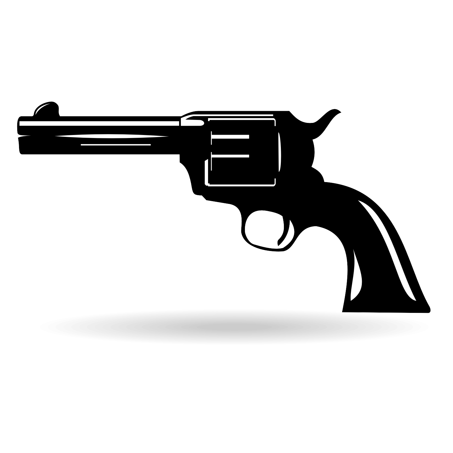 15 Old West Gun Silhouette Vector Images