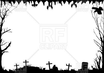 Halloween Clip Art Borders