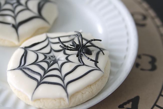 Halloween Spider Web Cookies Recipe