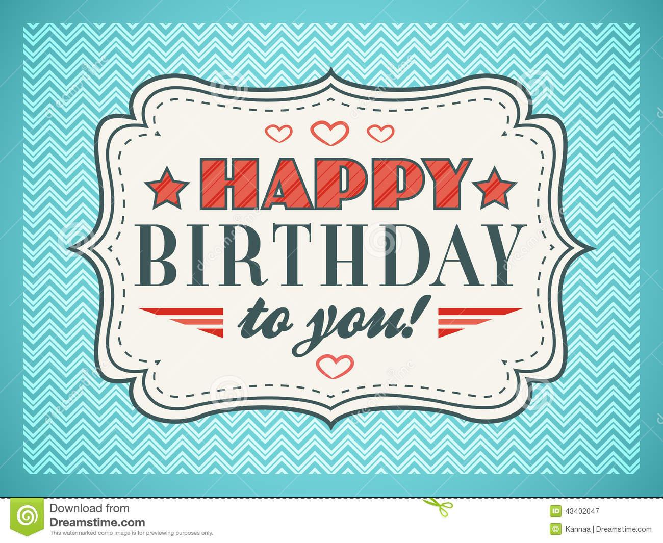 Happy Birthday Card Fonts