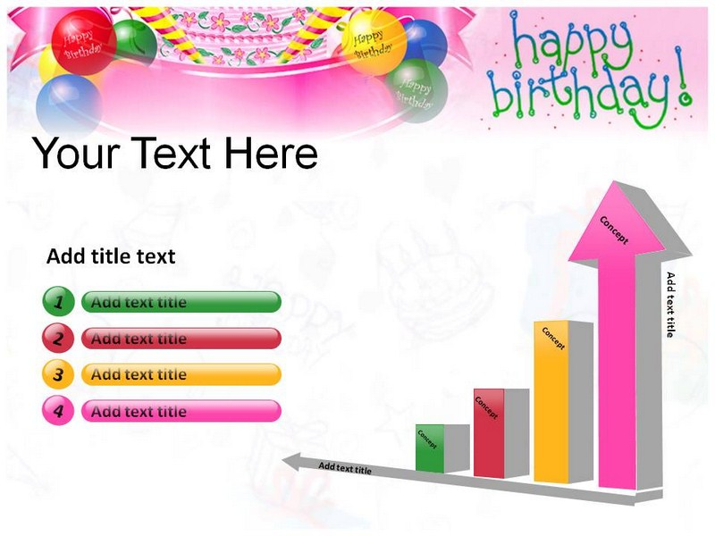 Birthday Card Powerpoint Template