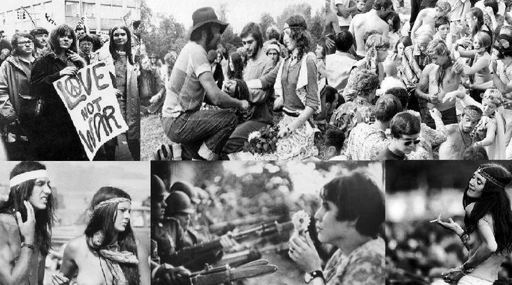 a history of the hippie movement of the 1960s in the united states