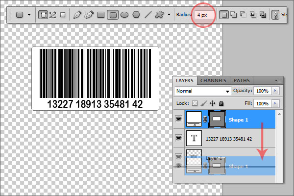 How to Create a Barcode in Photoshop