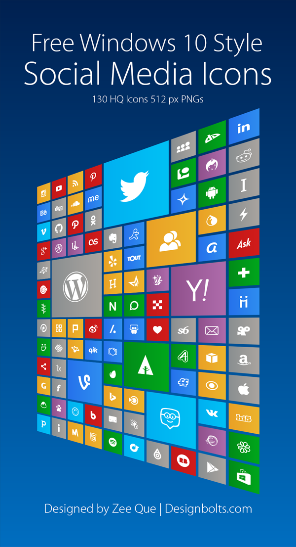 18 Free Icons For Windows 10 Images