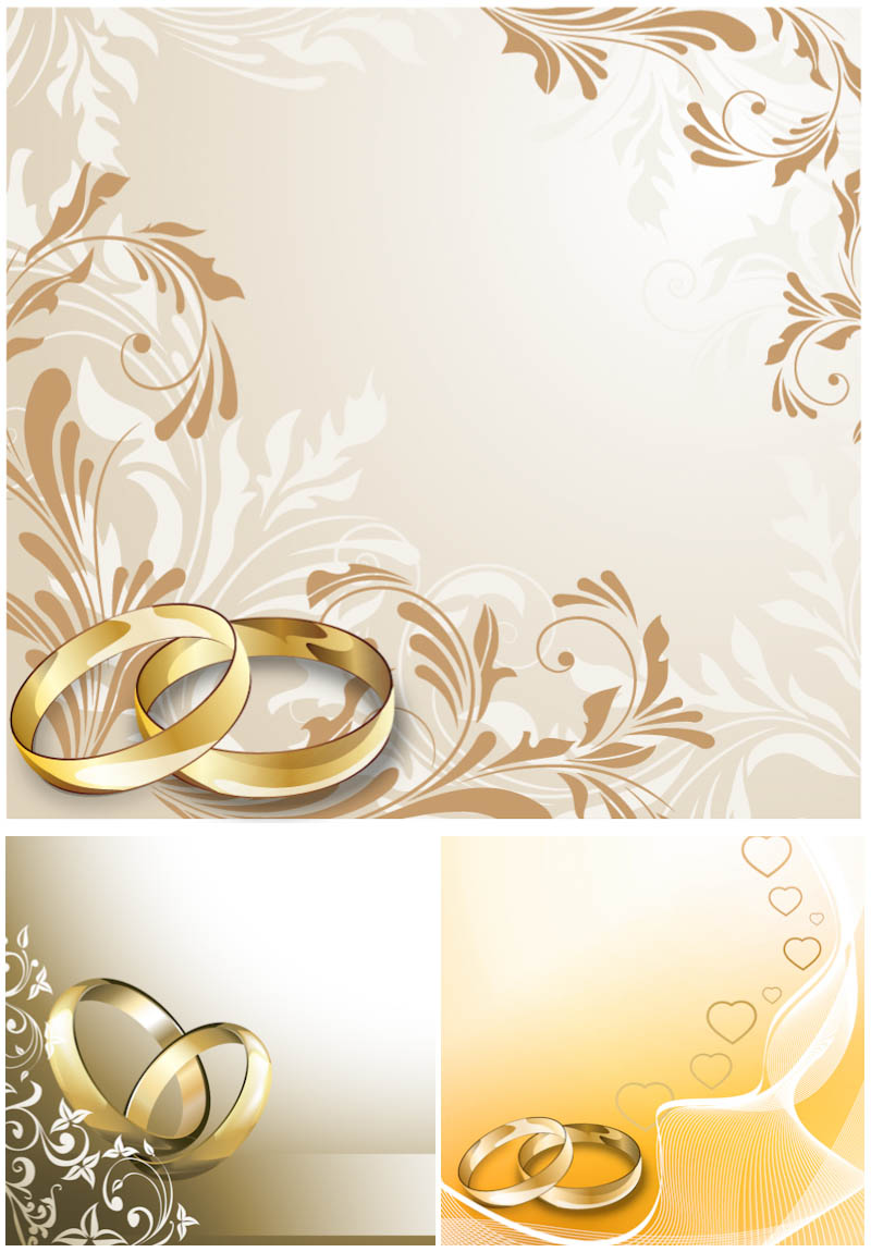 Invitation Cards for Wedding Rings