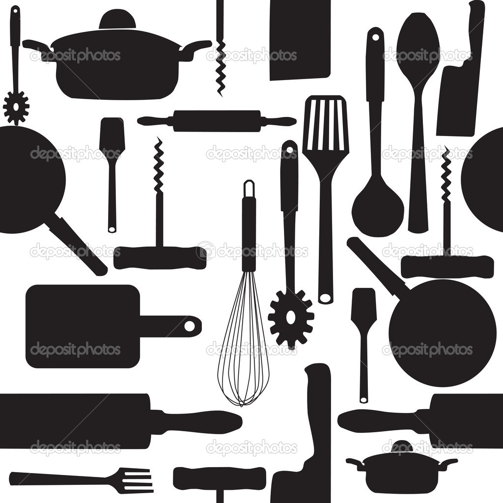 14 Kitchen Utensils Vector Clear Background Images ...