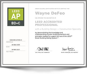 LEED-AP Certification