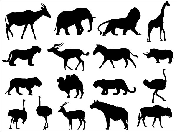 Lion Animal Silhouette Vector