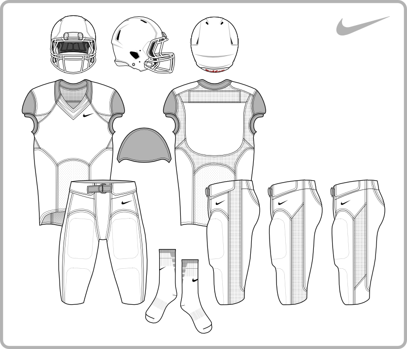 Nike Football Uniform Template