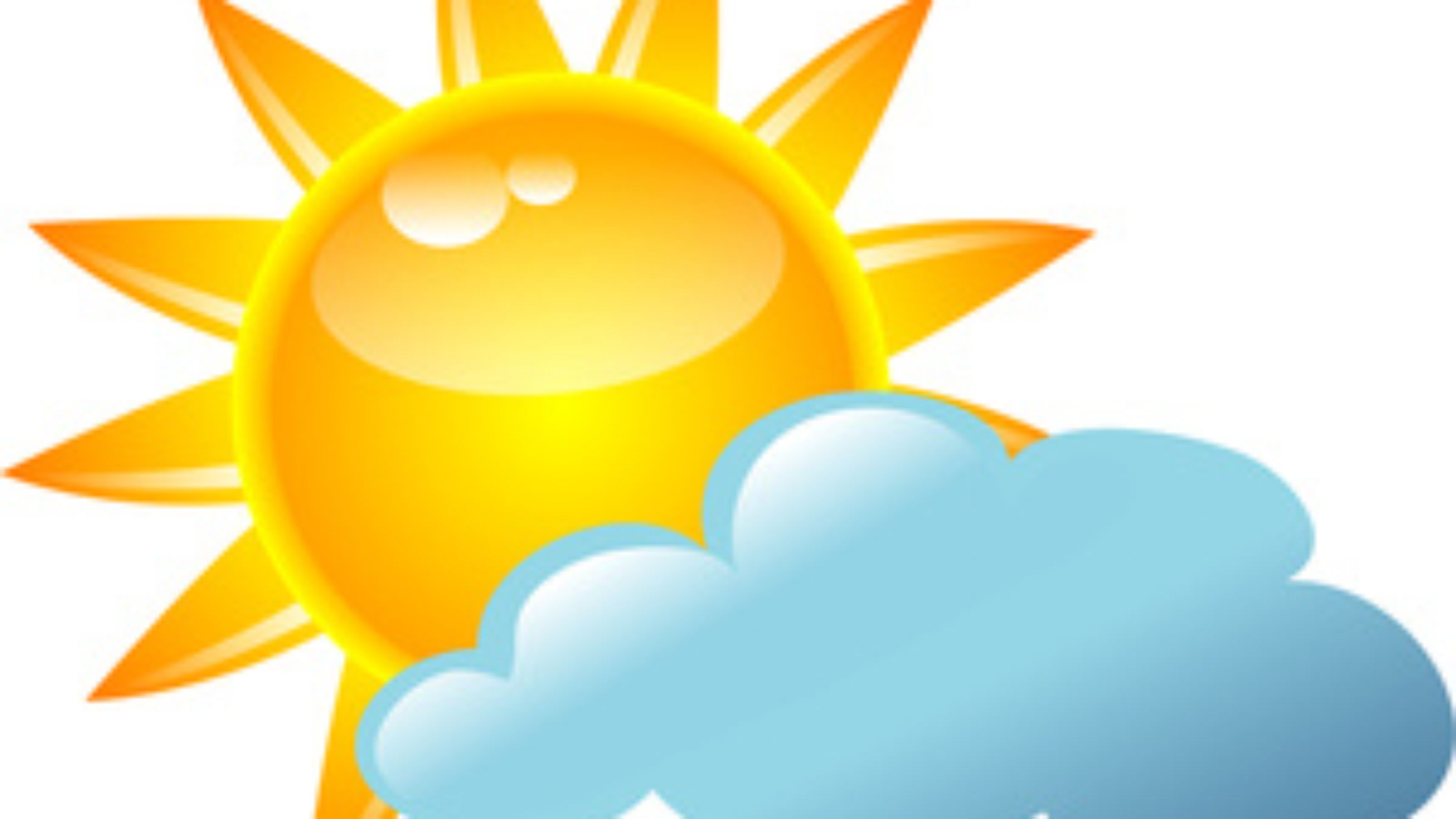 17 Overcast Weather Icon Images - Cartoon of Cloudy ...