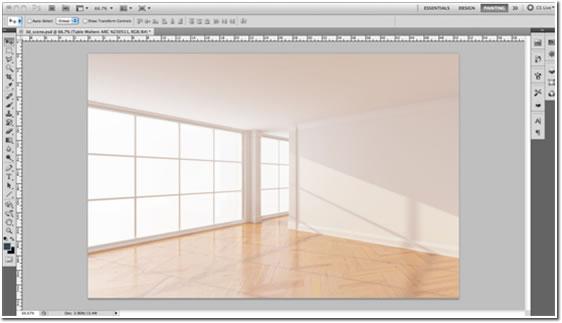 8 Empty Room Photoshop Images