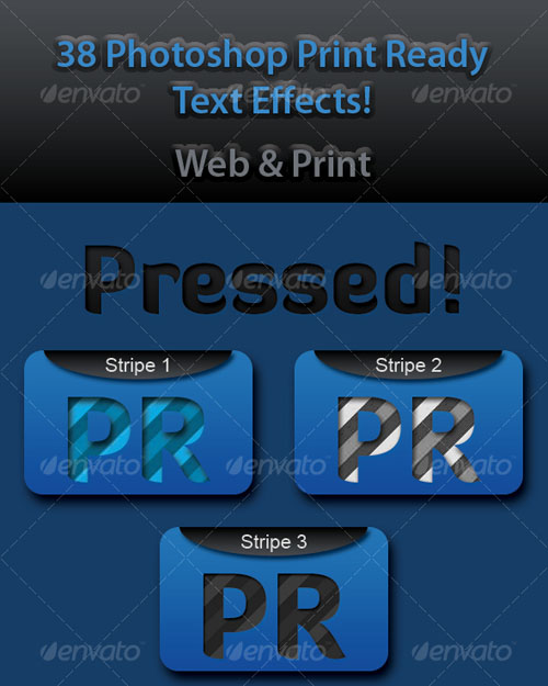 Photoshop Text Templates