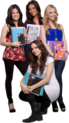 6 PSD Pretty Little Liars Images