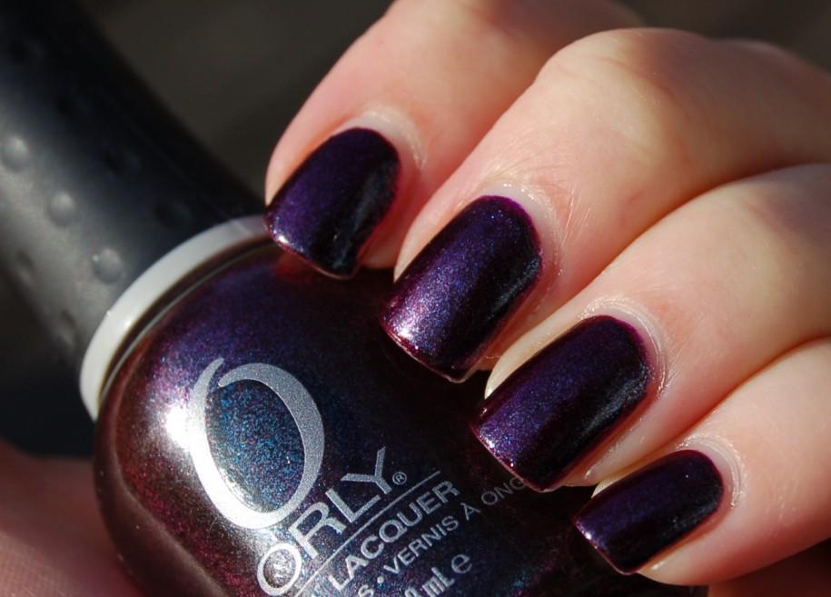 13 Purple Nail Art Designs 2013 Images