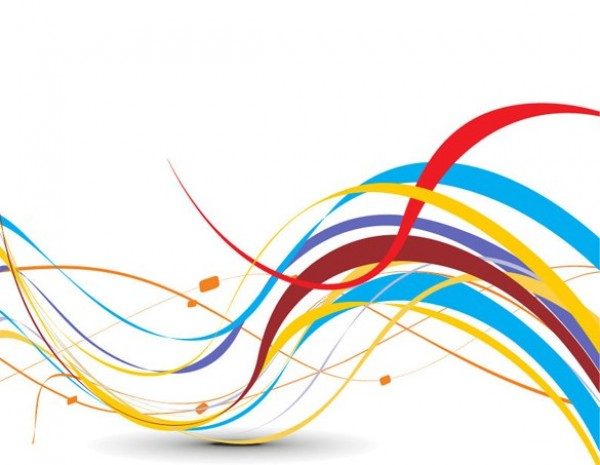 Ribbon Vector Free Abstract Art