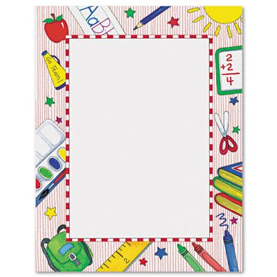picture regarding Free Printable School Borders named 18 Free of charge College or university Border Options Photos - Absolutely free Paper Borders