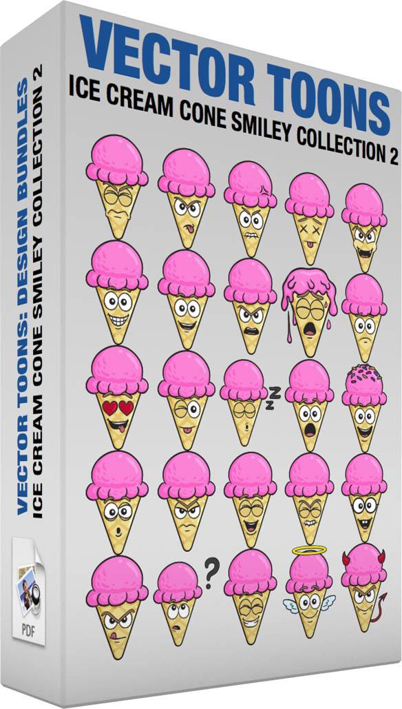7 Ice Cream Cone Emoticon Images - Ice Cream Smiley, Smiley