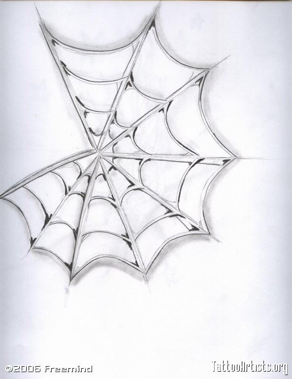 11 Cool Spider Web Designs Images