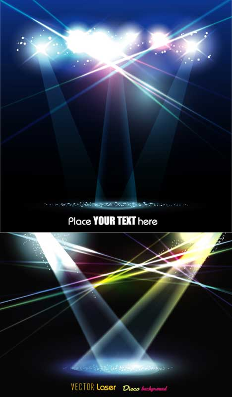 17 Stage Text Psd Images Stage Lights Psd Blue Stage