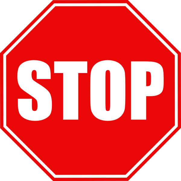 17 Stop Sign Vector Art Images