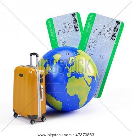 Ticket and Travel Icons