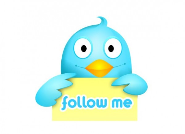 Twitter Icon Follow Me