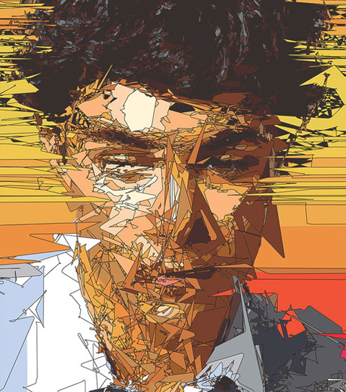 10 Abstract Vector Portraits Images