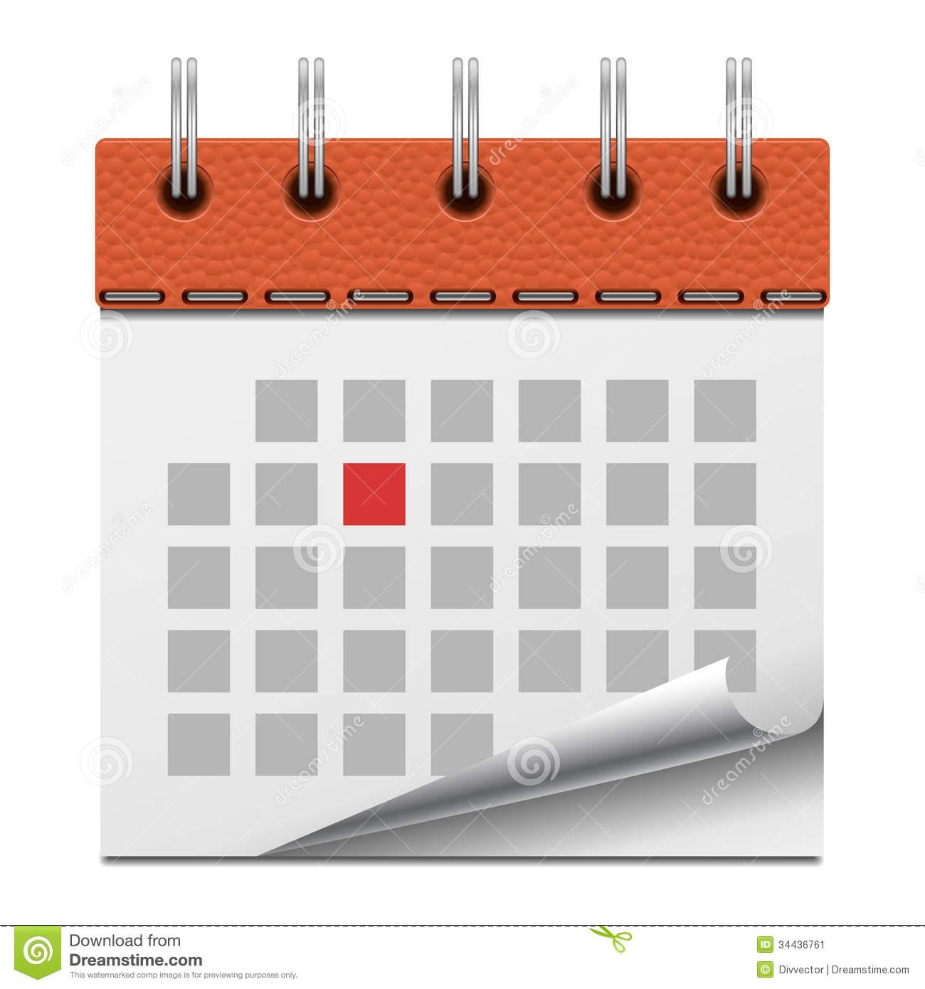Blank Calendar Svg : Vector generic calendar images free blank