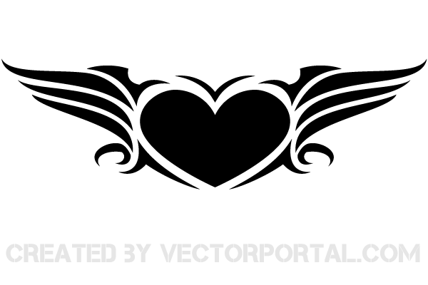 Vector Heart Clip Art