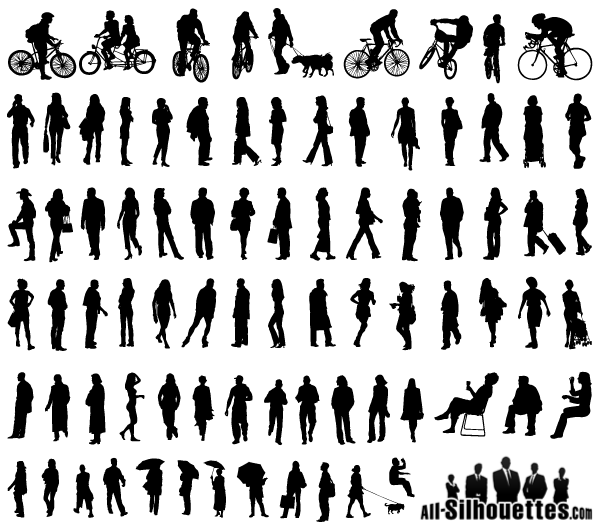 14 Person Standing Vector Images