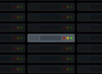 Web Server Icon Flat