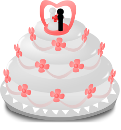 8 Wedding Cake Icon Images