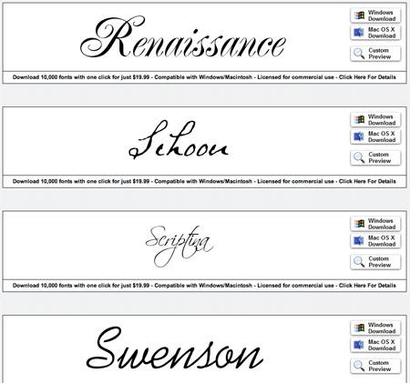Wedding Invitations Fonts Free Download