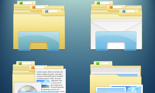 14 Windows 7 Folder Icon Pack Images