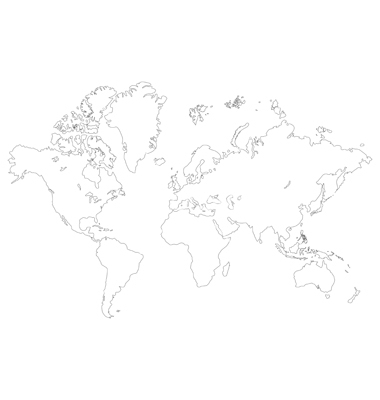 13 world map outline vector images world map outline continents world map outline vector free gumiabroncs Choice Image