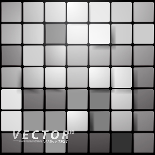 3D Square Vector