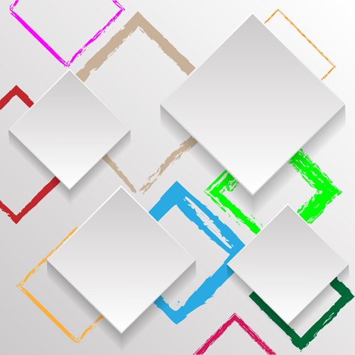 Abstract Square Vector Free Download