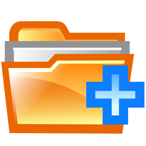 Add File Folder Icon