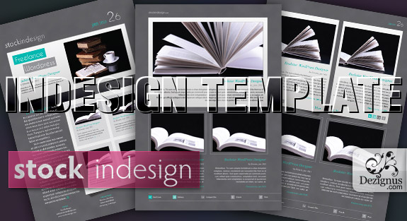 18 Free Downloadable InDesign Layout Templates Images