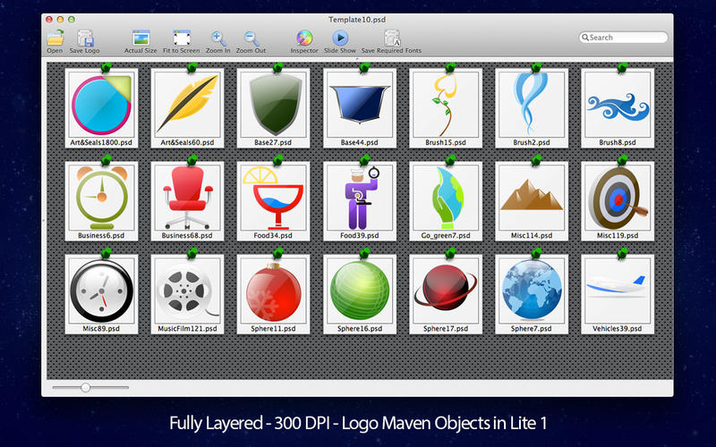 Adobe Photoshop Logo Templates