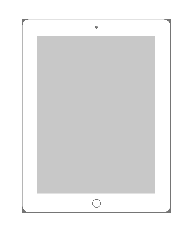 Air Horizontal iPad Vector