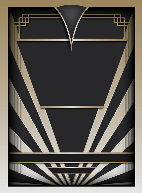 9 art deco graphic design images art deco designs free art deco graphic design style and art. Black Bedroom Furniture Sets. Home Design Ideas