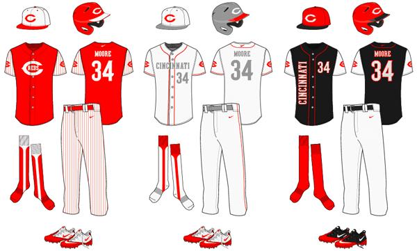 Baseball Uniform Template Vector